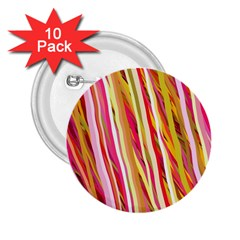 Color Ribbons Background Wallpaper 2 25  Buttons (10 Pack)