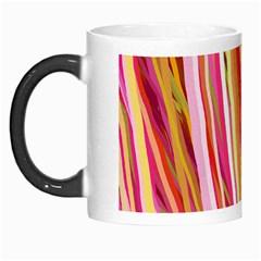 Color Ribbons Background Wallpaper Morph Mugs