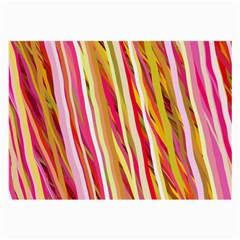 Color Ribbons Background Wallpaper Large Glasses Cloth