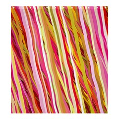 Color Ribbons Background Wallpaper Shower Curtain 66  X 72  (large)  by Nexatart