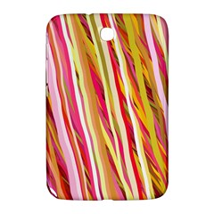 Color Ribbons Background Wallpaper Samsung Galaxy Note 8 0 N5100 Hardshell Case  by Nexatart