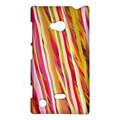 Color Ribbons Background Wallpaper Nokia Lumia 720 by Nexatart
