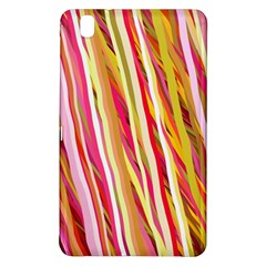 Color Ribbons Background Wallpaper Samsung Galaxy Tab Pro 8 4 Hardshell Case