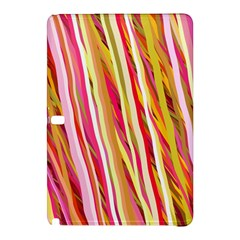 Color Ribbons Background Wallpaper Samsung Galaxy Tab Pro 12 2 Hardshell Case by Nexatart