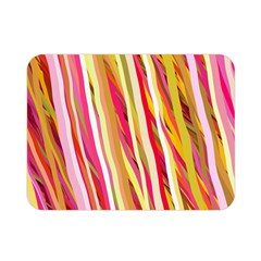 Color Ribbons Background Wallpaper Double Sided Flano Blanket (mini)  by Nexatart
