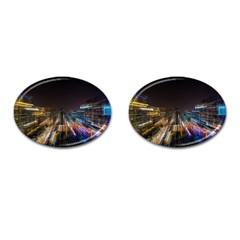 Frozen In Time Cufflinks (oval) by Nexatart