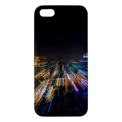 Frozen In Time Apple Iphone 5 Premium Hardshell Case by Nexatart