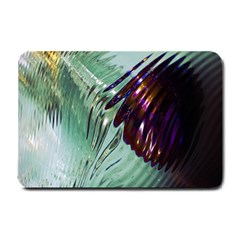 Out Of Time Glass Pearl Flowag Small Doormat