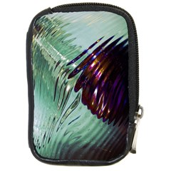 Out Of Time Glass Pearl Flowag Compact Camera Cases