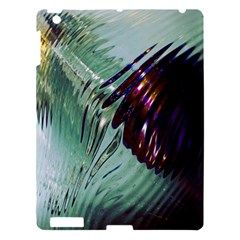 Out Of Time Glass Pearl Flowag Apple Ipad 3/4 Hardshell Case