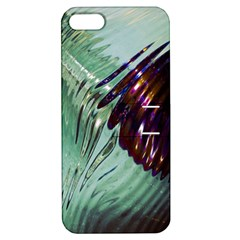 Out Of Time Glass Pearl Flowag Apple Iphone 5 Hardshell Case With Stand by Nexatart