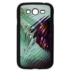 Out Of Time Glass Pearl Flowag Samsung Galaxy Grand Duos I9082 Case (black)