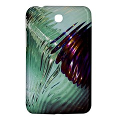 Out Of Time Glass Pearl Flowag Samsung Galaxy Tab 3 (7 ) P3200 Hardshell Case  by Nexatart