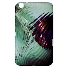 Out Of Time Glass Pearl Flowag Samsung Galaxy Tab 3 (8 ) T3100 Hardshell Case