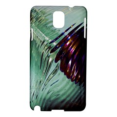 Out Of Time Glass Pearl Flowag Samsung Galaxy Note 3 N9005 Hardshell Case
