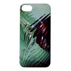 Out Of Time Glass Pearl Flowag Apple Iphone 5s/ Se Hardshell Case