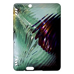 Out Of Time Glass Pearl Flowag Kindle Fire Hdx Hardshell Case by Nexatart