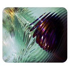 Out Of Time Glass Pearl Flowag Double Sided Flano Blanket (small)  by Nexatart