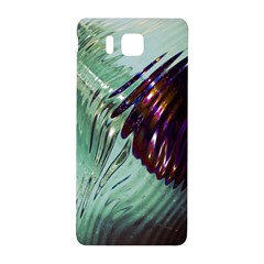 Out Of Time Glass Pearl Flowag Samsung Galaxy Alpha Hardshell Back Case by Nexatart