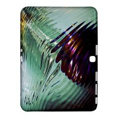 Out Of Time Glass Pearl Flowag Samsung Galaxy Tab 4 (10 1 ) Hardshell Case