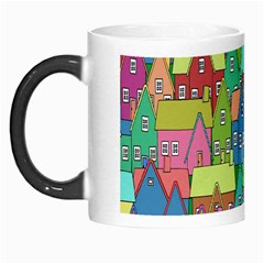 Neighborhood In Color Morph Mugs by Nexatart