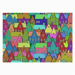 Neighborhood In Color Large Glasses Cloth (2 Side)