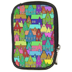 Neighborhood In Color Compact Camera Cases by Nexatart