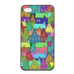 Neighborhood In Color Apple Iphone 4/4s Seamless Case (black)