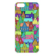 Neighborhood In Color Apple Iphone 5 Seamless Case (white) by Nexatart