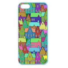 Neighborhood In Color Apple Seamless Iphone 5 Case (color)