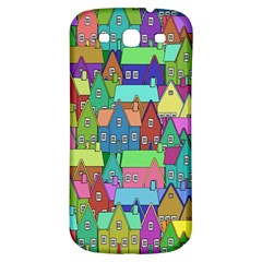 Neighborhood In Color Samsung Galaxy S3 S Iii Classic Hardshell Back Case by Nexatart