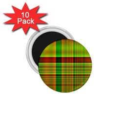 Multicoloured Background Pattern 1 75  Magnets (10 Pack)