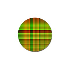 Multicoloured Background Pattern Golf Ball Marker (10 Pack) by Nexatart