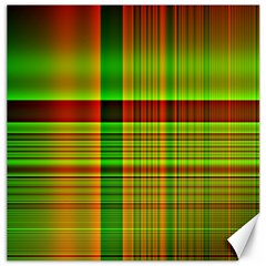 Multicoloured Background Pattern Canvas 20  X 20