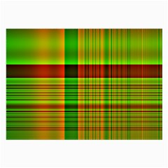 Multicoloured Background Pattern Large Glasses Cloth by Nexatart