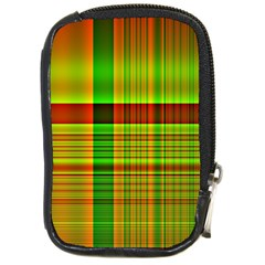 Multicoloured Background Pattern Compact Camera Cases by Nexatart