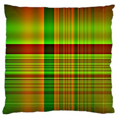Multicoloured Background Pattern Large Cushion Case (two Sides)