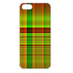 Multicoloured Background Pattern Apple Iphone 5 Seamless Case (white)