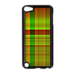 Multicoloured Background Pattern Apple Ipod Touch 5 Case (black) by Nexatart