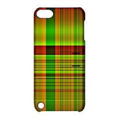 Multicoloured Background Pattern Apple Ipod Touch 5 Hardshell Case With Stand by Nexatart