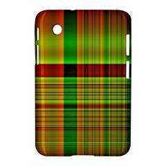 Multicoloured Background Pattern Samsung Galaxy Tab 2 (7 ) P3100 Hardshell Case