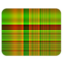 Multicoloured Background Pattern Double Sided Flano Blanket (medium)