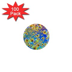 Color Particle Background 1  Mini Magnets (100 Pack)  by Nexatart