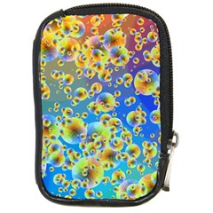 Color Particle Background Compact Camera Cases
