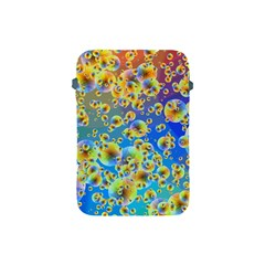 Color Particle Background Apple Ipad Mini Protective Soft Cases by Nexatart