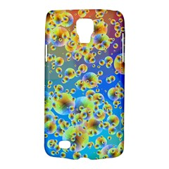 Color Particle Background Galaxy S4 Active by Nexatart