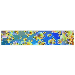 Color Particle Background Flano Scarf (small)