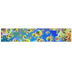 Color Particle Background Flano Scarf (large) by Nexatart
