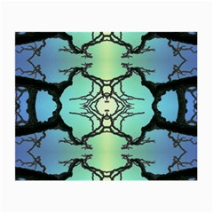 Branches With Diffuse Colour Background Small Glasses Cloth