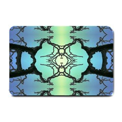 Branches With Diffuse Colour Background Small Doormat